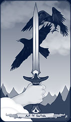 Ace of Swords by Annette Abolins
