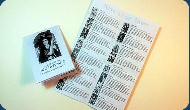 Nine Lives Tarot 1st Guide book