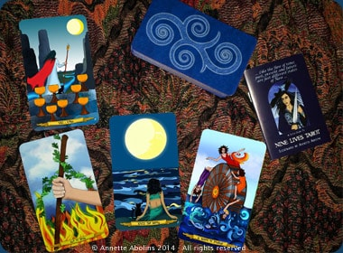 4 card reading Nine Lives Tarot