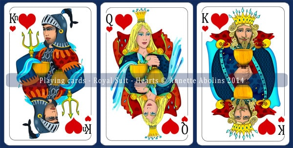 House of Hearts - Royals - Annette Abolins