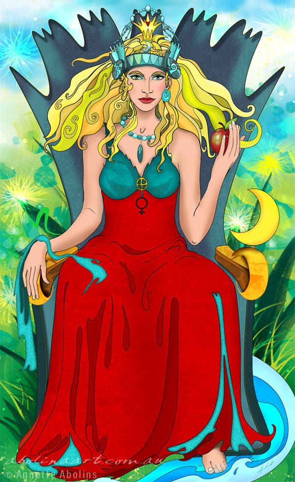 Tarot artwork by Annette Abolins