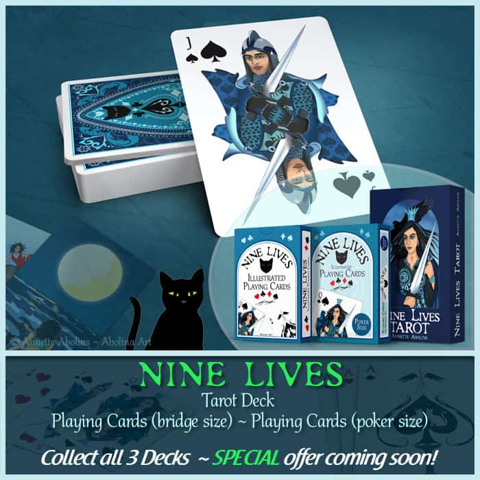 Nine Lives collect all 3 decks