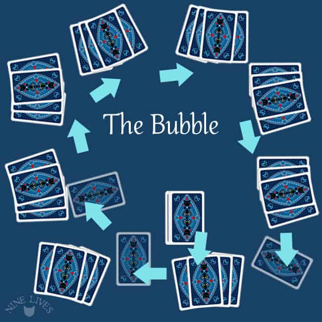 The Bubble card game