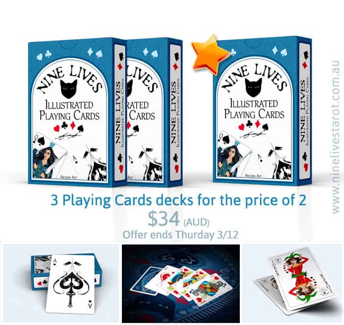 Playing Cards special offer Nine Lives
