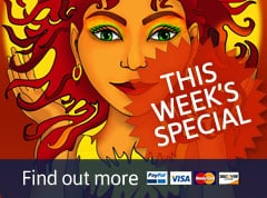 This Week's Special on Nine Lives Cards