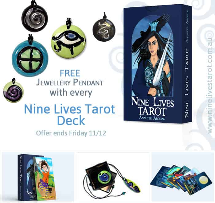 Nine Lives Tarot + Free Pendant