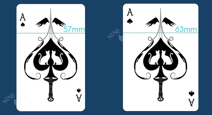 Nine Lives Ace of Spades -Bridge & Poker size