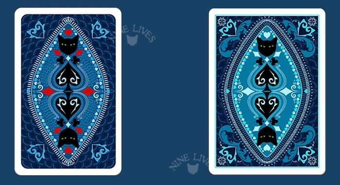 Back design Nine Lives Playing Cards