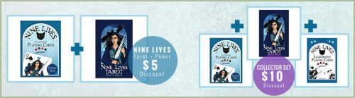 Special discounts available for purchasing Nine Lives sets