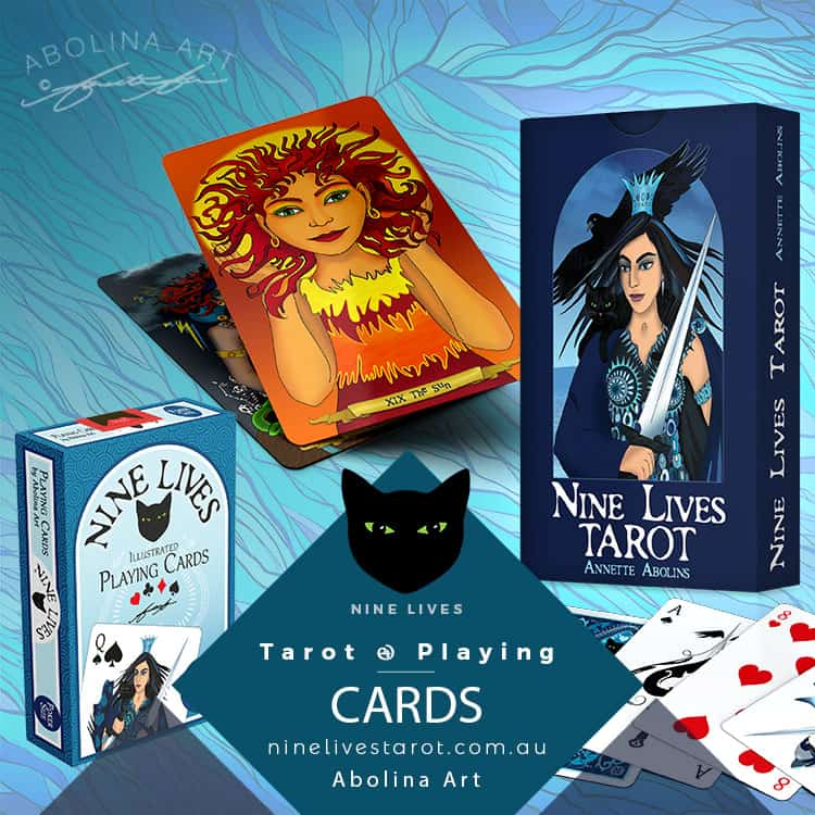 Nine Lives Tarot and Playing Cards