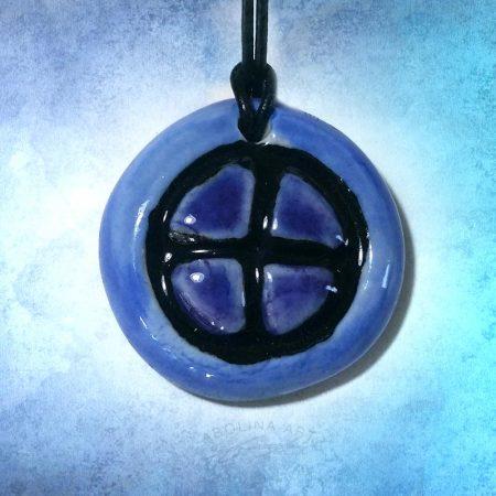 blue and purple design