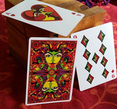 3 Cards from VIZAGO Lumina by Abolina Art