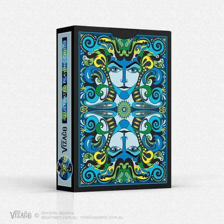 Tuck box design - Abolina Art