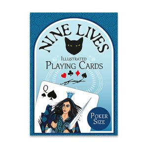 playing cards illustrated by Annette Abolins