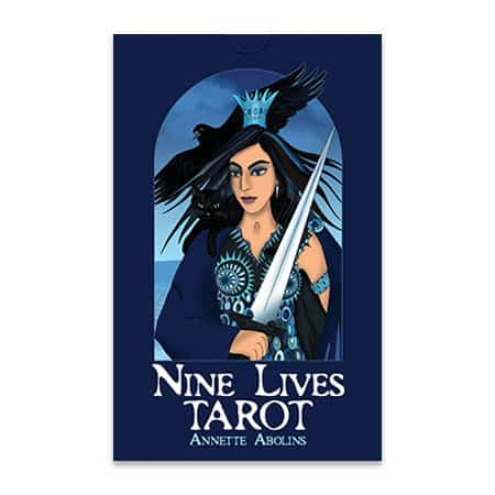 illustrated tarot deck by Annette Abolins