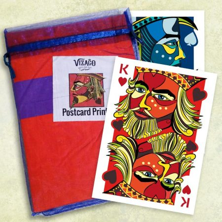 Pack of 20 cards delivered in hand wrapped pack