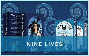 view products in Nine Lives series: tarot and playing card decks