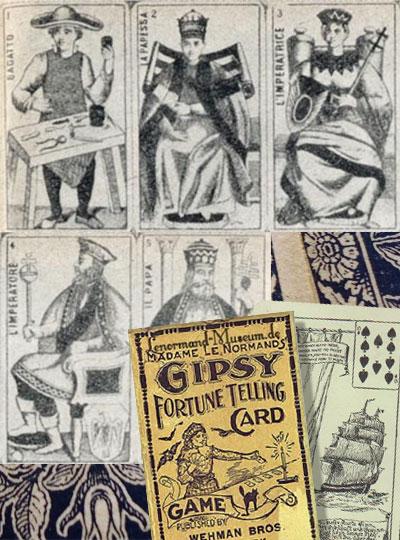ancient tarot cards